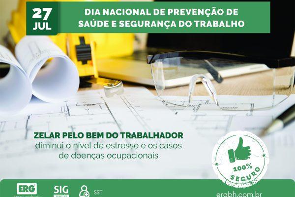 Dia Nacional de Prevenção de Acidentes